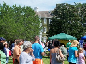 Shrimp and Grits Festival Lines