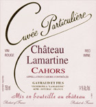 Chateau Lamartine Cahors