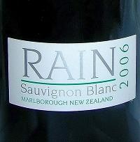 Rain Sauvignon Blanc (2006)
