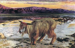 The Scapegoat (1856) by William Holman Hunt