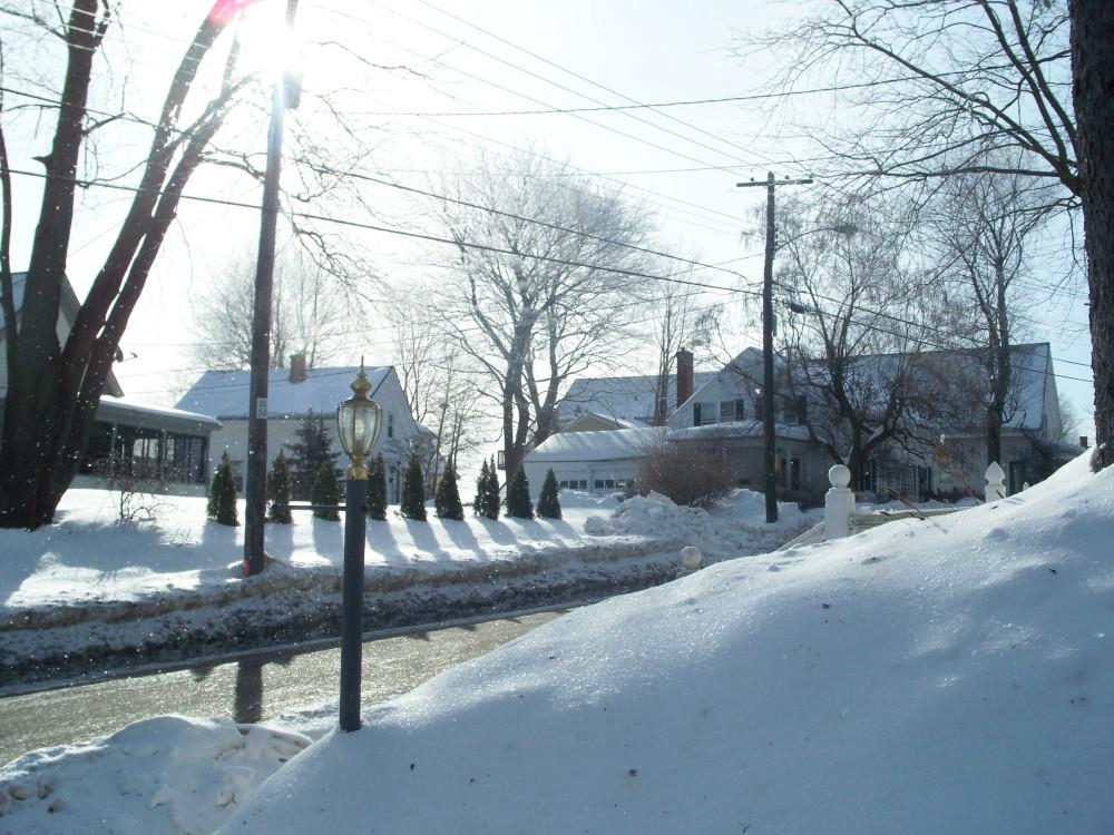 snow on Saturday morning