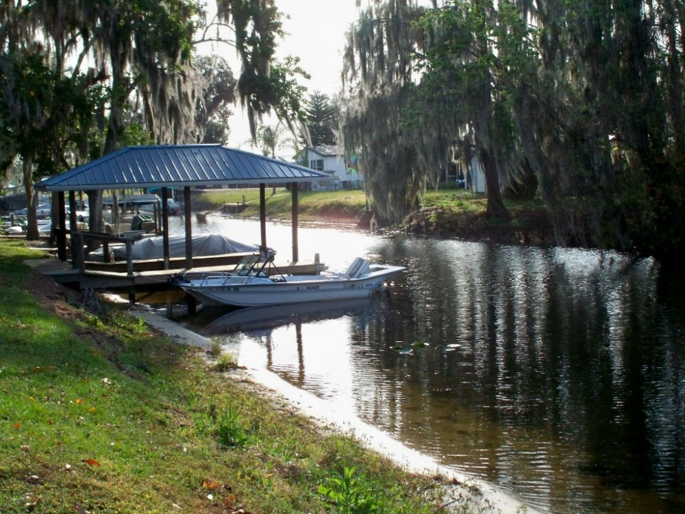Florida, canal, Feb 2007