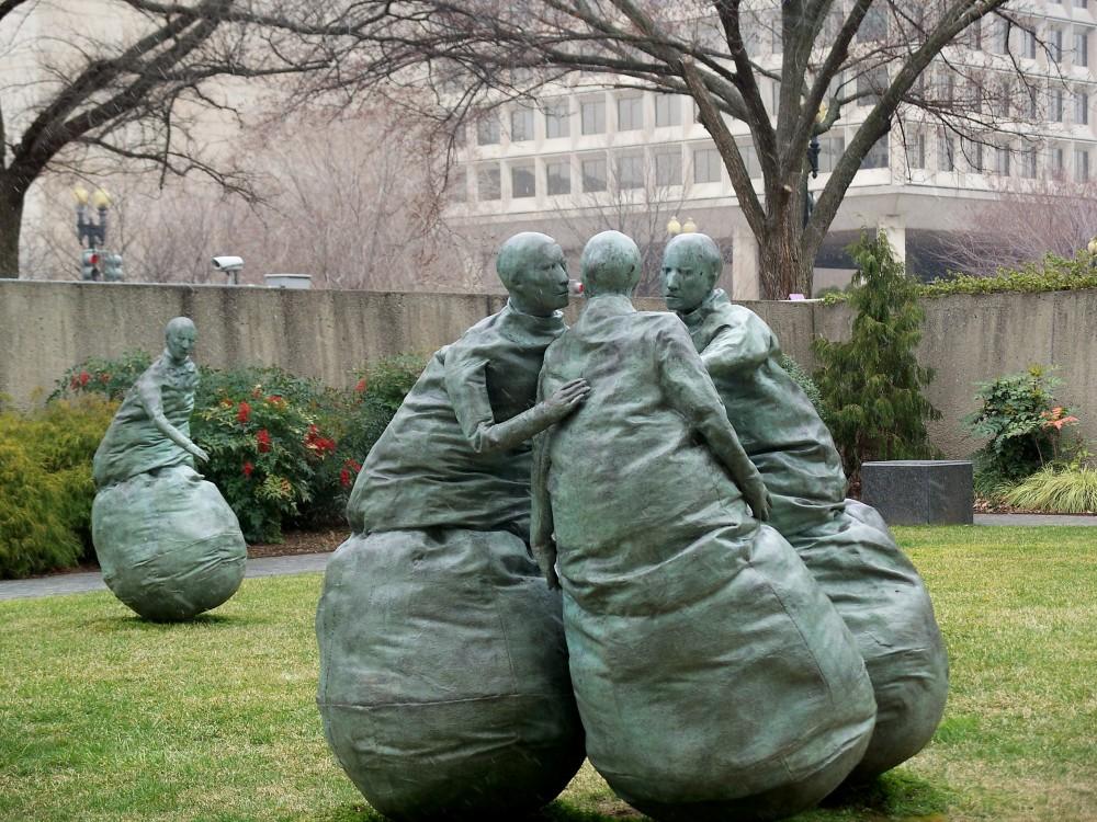 Hirschhorn Sculpture, Feb 2008