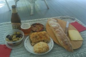 Farmers Market lunch