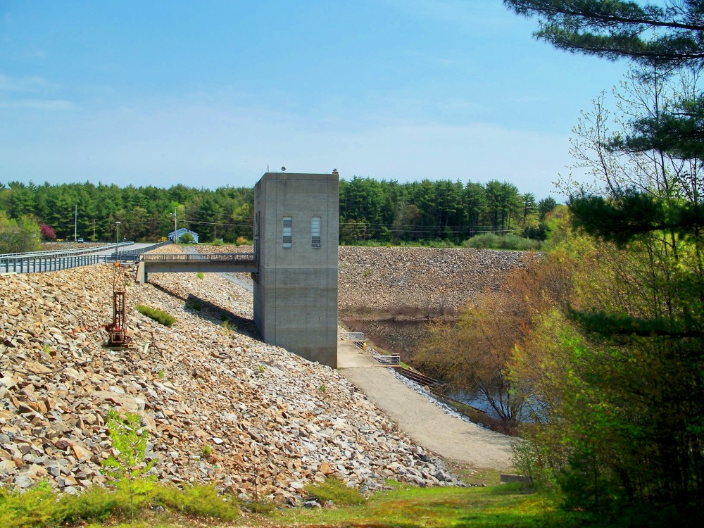 Hopkinton Dam, 30 April 2010