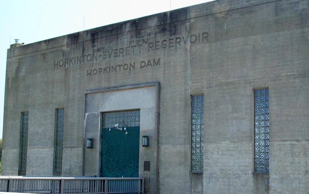Hopkinton Dam Building, 30 April 2010