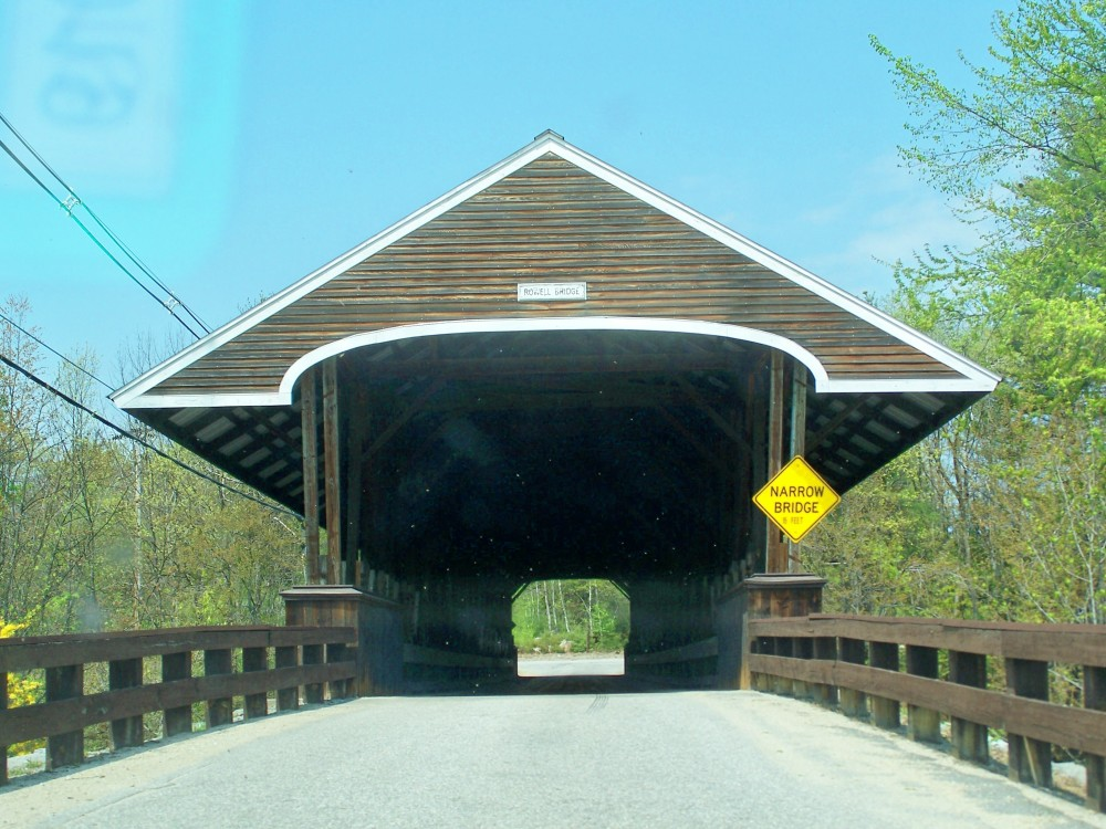Rowell's Bridge, Hopkinton NH, 30 April 2010