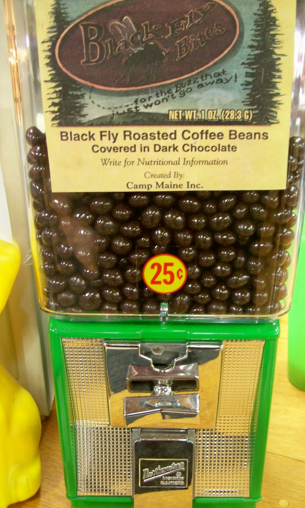 Coffee bean vending (Quechee VT)