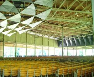 Tanglewood - inside Koussevitsky Shed
