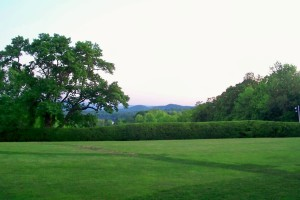 Tanglewood view - evening