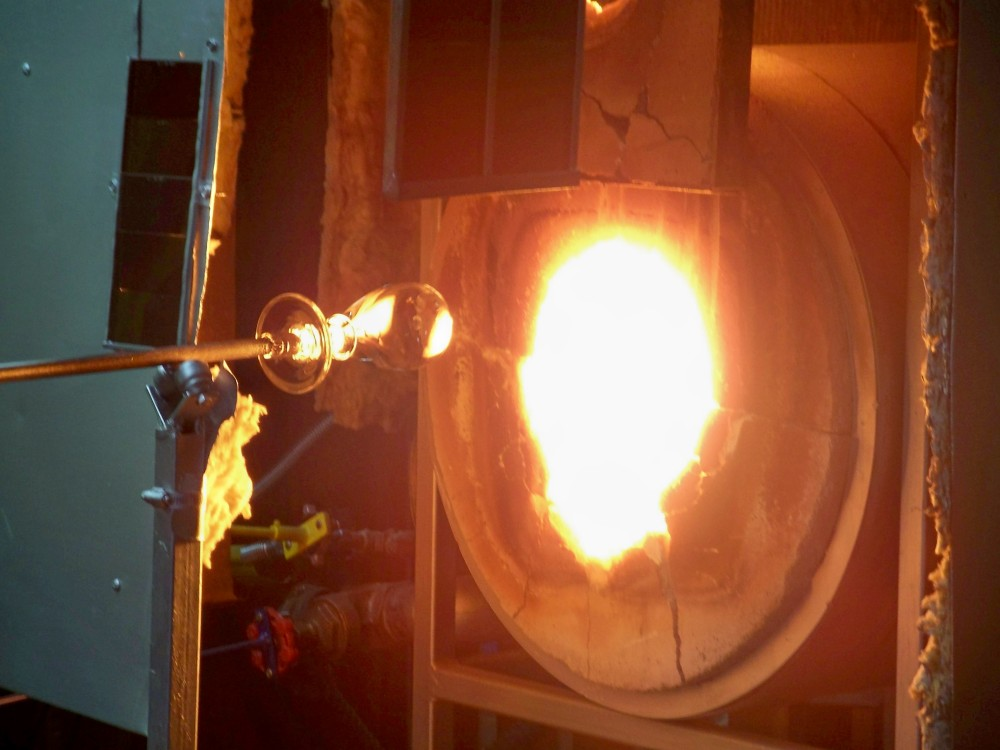 glass making in Quechee VT