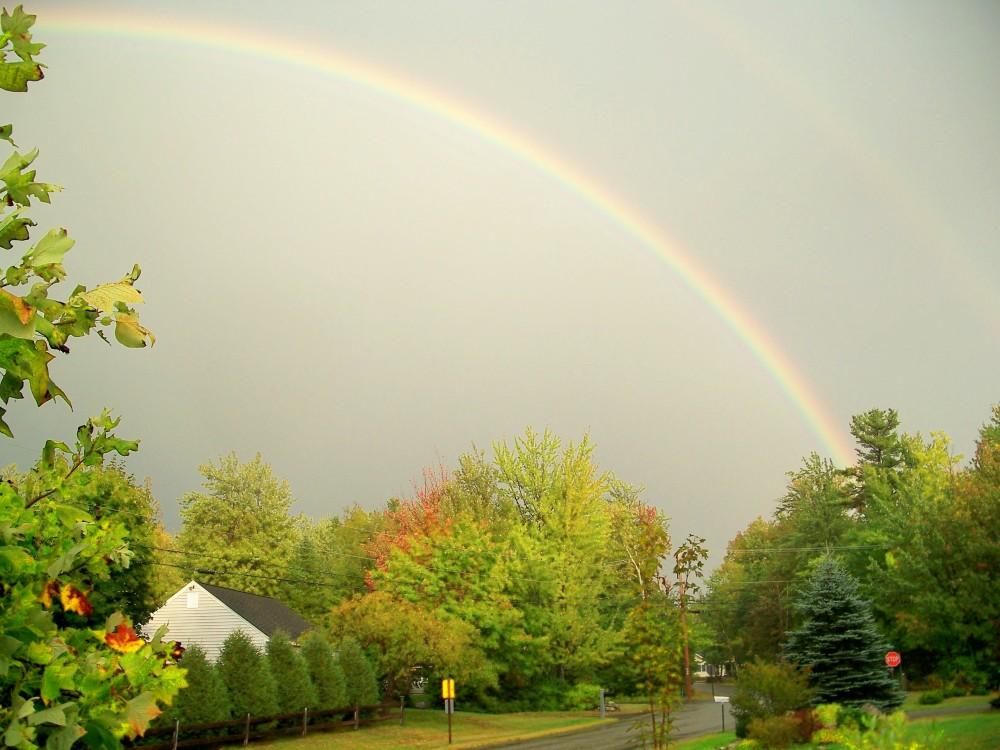 rainbow, 13 Sept 2010