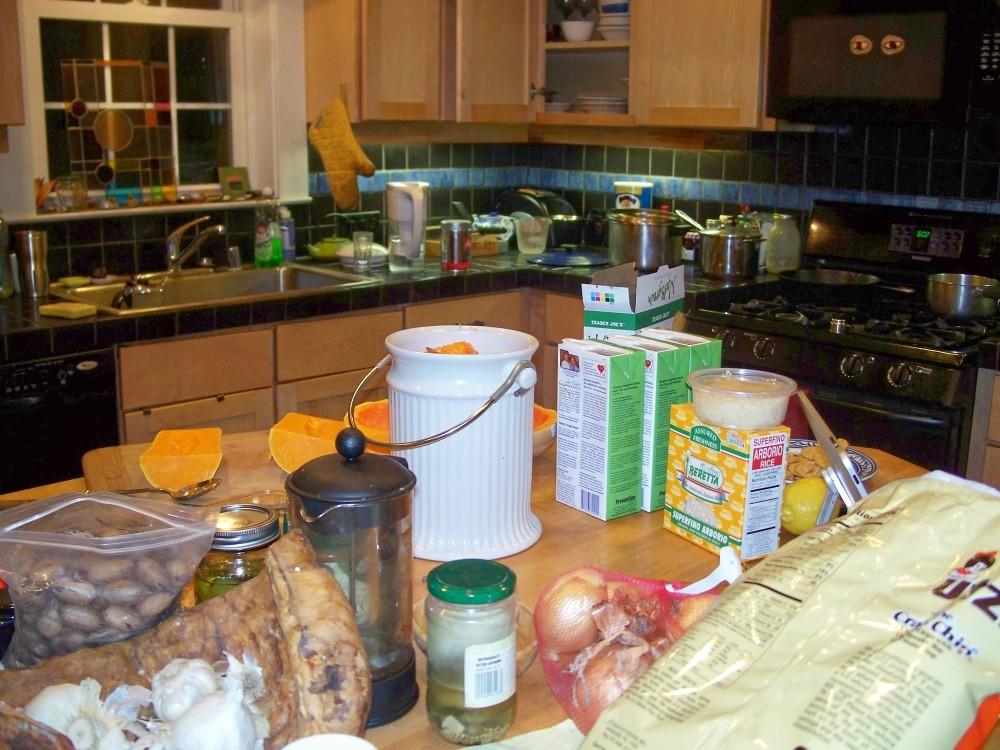 dinner prep, 2 Feb 2011