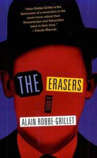 book cover: The Erasers (Robbe-Grillet)