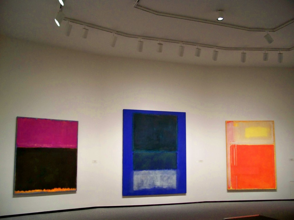 Rothkos in National Museum of Art, 31 Jan 2011