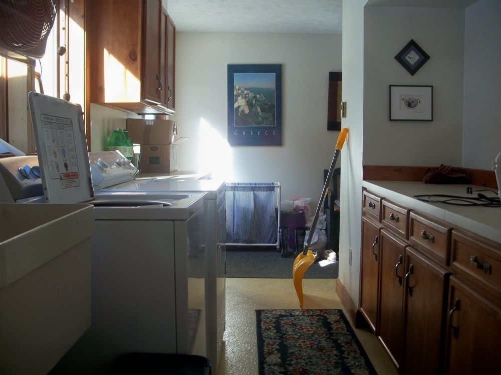 laundry room, 5 Feb 2012