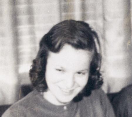 Mom's head, Jan. 1962