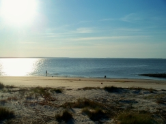 St. Andrew's beach near sunset, JI, 27 April 2012