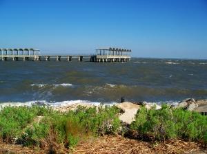waves at Clam Creek beach, JI, 23 April 2012
