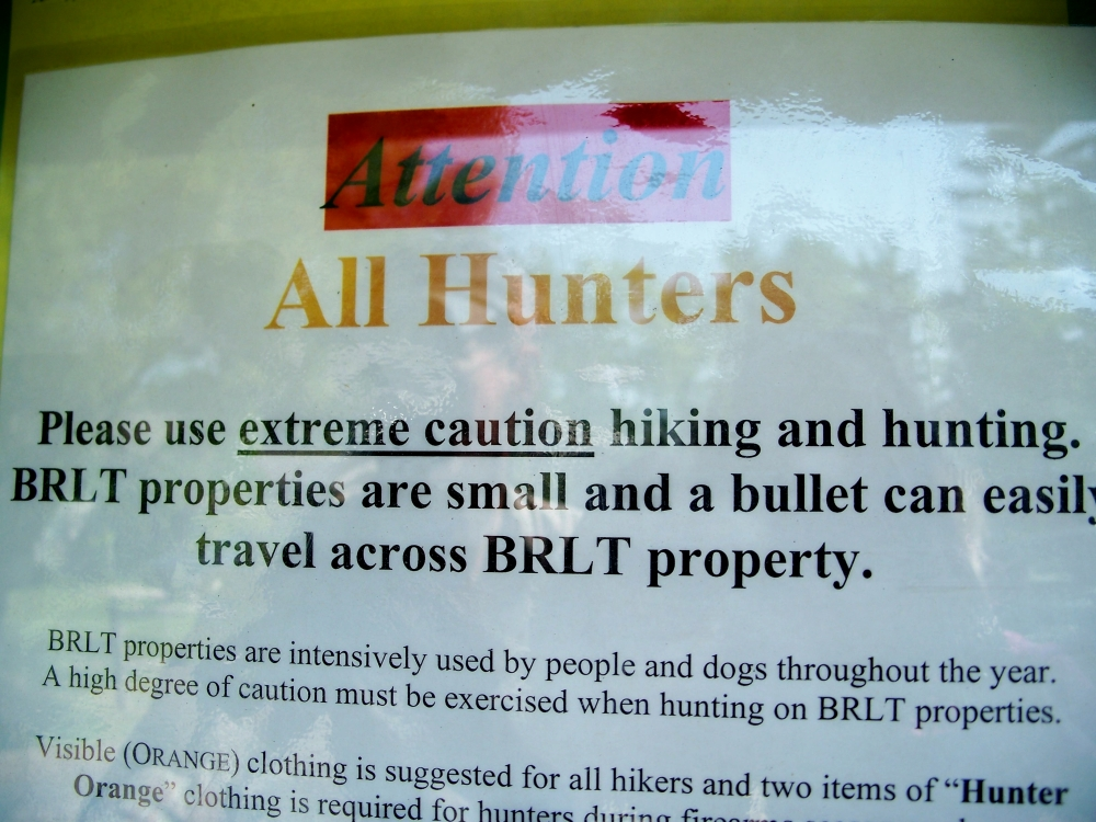 sign about bullets, LCMP, 26 May 2012