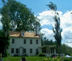 Saint-Gaudens house and trees