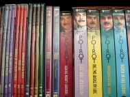 a row of Poirots