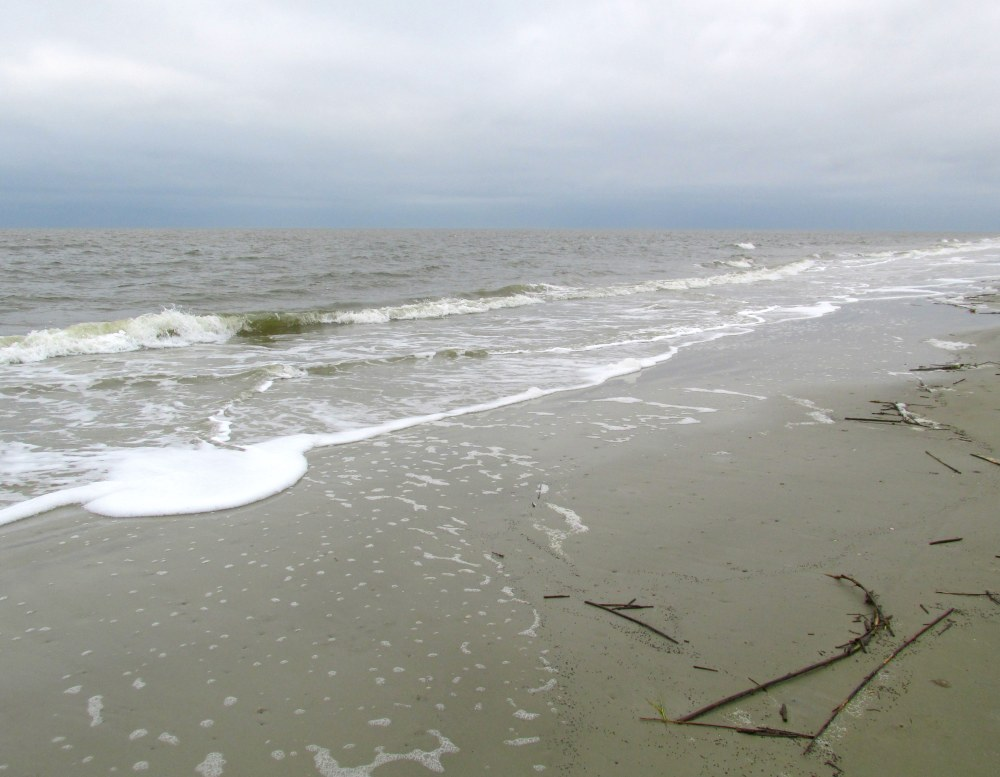 beach at Jekyll, Sept 2014